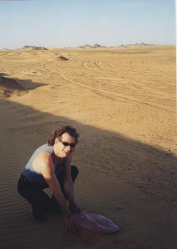 Nay Zayga Egypte 2004 ramasse les cosmic seeds